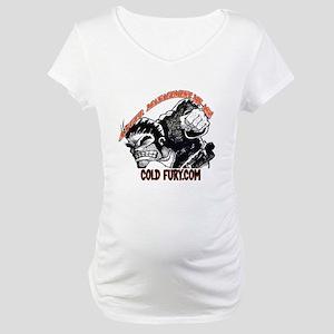 CF shirt-back Maternity T-Shirt