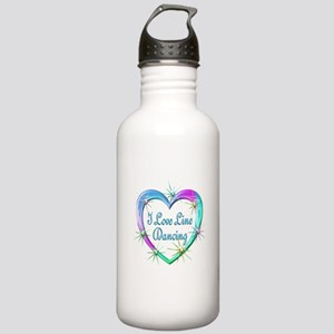 I Love Line Dancing Stainless Water Bottle 1.0L