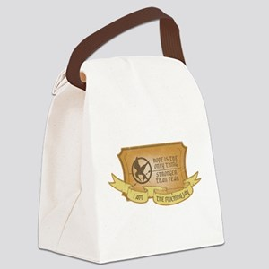 Hope Mockingjay Canvas Lunch Bag
