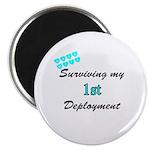 USCG Wife Surviving 1st Deployment Magnet