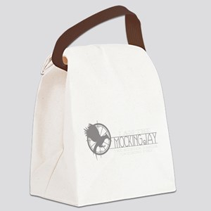 I Am the Mockingjay Grey Canvas Lunch Bag