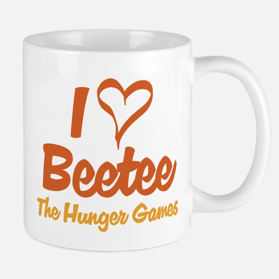I Heart Beetee Mugs