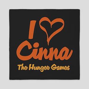 I Heart Cinna Queen Duvet