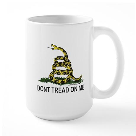 Gadsden Flag - Don't Tread On Large Mug