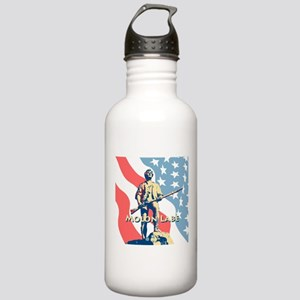 Molon Labe Minute Man Stainless Water Bottle 1.0L