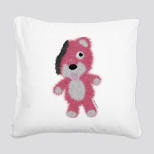 Breaking Bad Bear Square Canvas Pillow