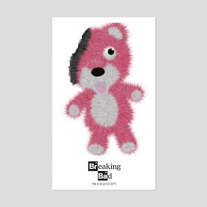 Breaking Bad Bear Sticker (Rectangle)
