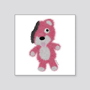 "Breaking Bad Bear Square Sticker 3"" x 3"""