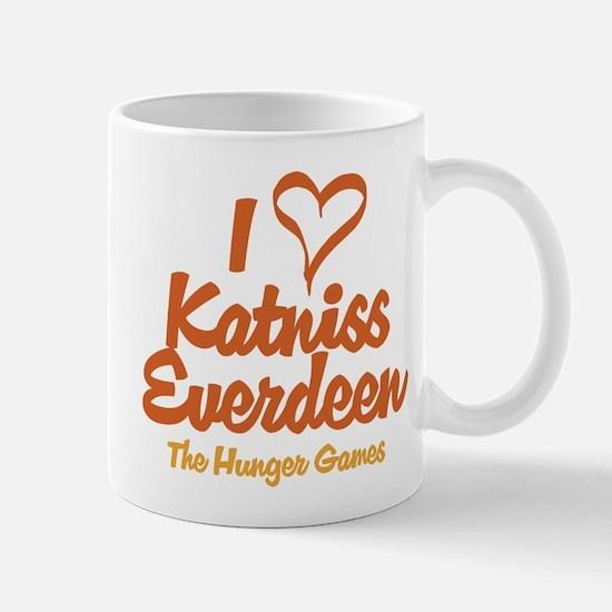 I Heart Katniss Mugs