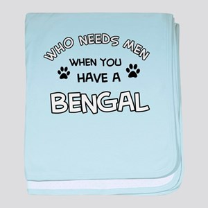 Cool Bengal designs baby blanket