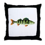 European perch Throw Pillow