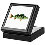 European perch Keepsake Box