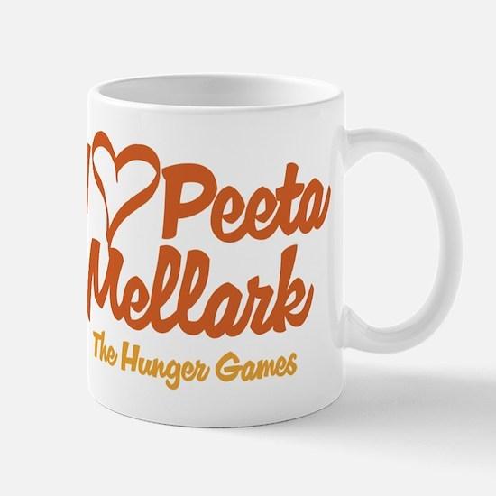 I Heart Peeta Mugs