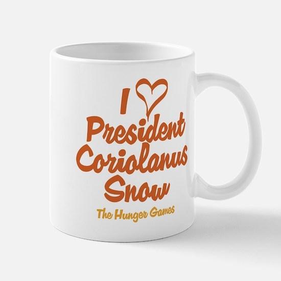 I Heart President Snow Mugs