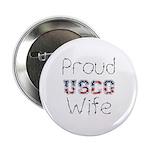 Proud USCG Wife Button