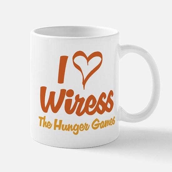I Heart Wiress Mugs