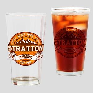 Stratton Tangerine Drinking Glass