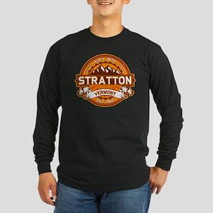 Stratton Tangerine Long Sleeve Dark T-Shirt