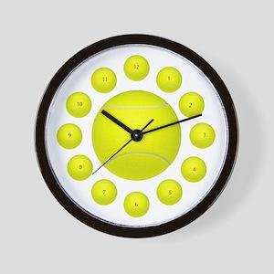 Tennis Ball Wall Clock