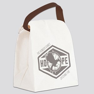 Mockingjay Hope Grey Canvas Lunch Bag