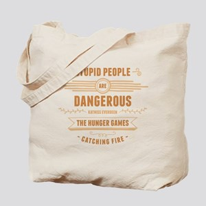 Stupid People Tote Bag