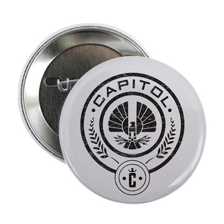 "Vintage Hunger Games Capitol 2.25"" Button (100 pac"
