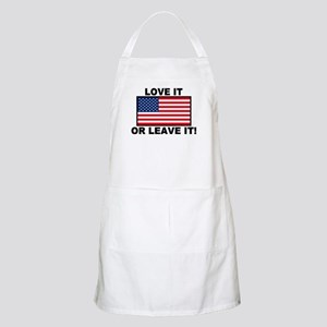 Love It or Leave It BBQ Apron