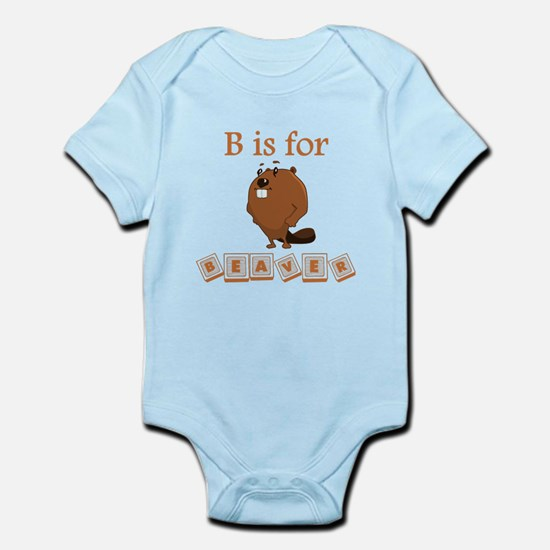 B Is For Beaver Body Suit