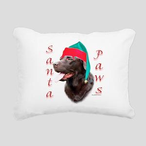 LabchocolatePaws Rectangular Canvas Pillow