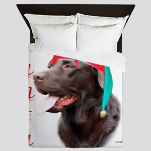 LabchocolatePaws Queen Duvet