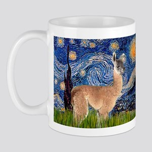 Starry Night Llama Mug