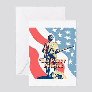 Tea Party Patriot Greeting Card