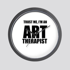 Trust Me, Im An Art Therapist Wall Clock