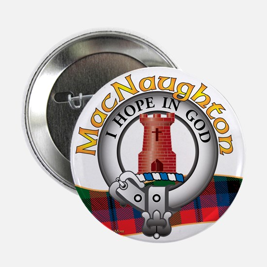 "MacNaughton Clan 2.25"" Button"