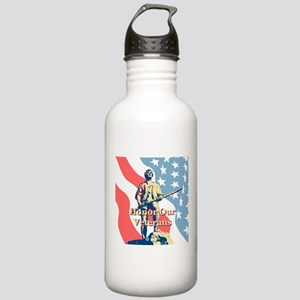 Honor Our Veterans Stainless Water Bottle 1.0L