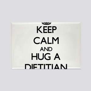 Keep Calm and Hug a Dietitian Magnets
