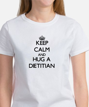 Keep Calm and Hug a Dietitian T-Shirt