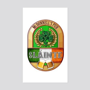 McDonnell's Irish Pub Sticker (Rectangle)