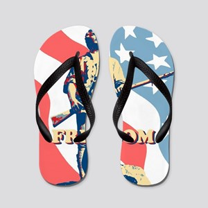 Minute Man Freedom Flip Flops