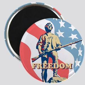Minute Man Freedom Magnet