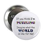 Autism Puzzle Button