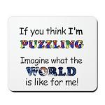 Autism Puzzle Mousepad