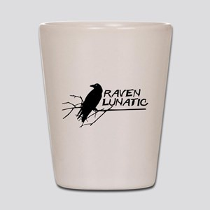 Raven Lunatic - Halloween Shot Glass