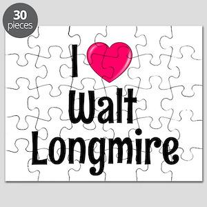 I heart Walt Longmire Puzzle