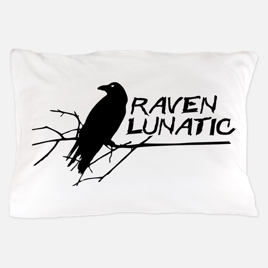 Raven Lunatic - Halloween Pillow Case