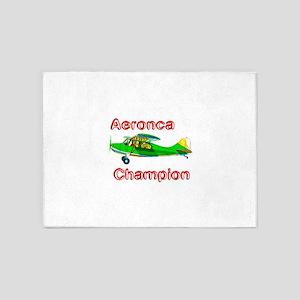 Aeronca Champion 5'x7'Area Rug
