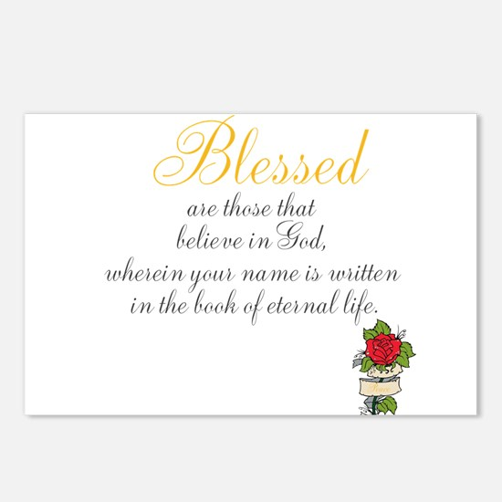 TheEulogyWeb: Blessed design #7 Postcards (Package
