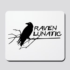 Raven Lunatic - Halloween Mousepad