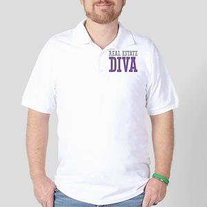 Real Estate DIVA Golf Shirt