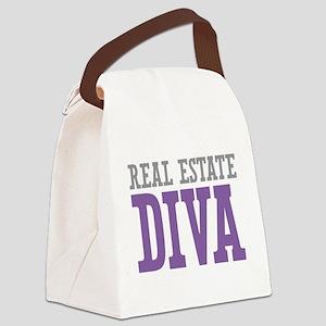 Real Estate DIVA Canvas Lunch Bag